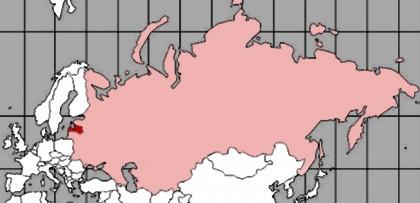 Latvija PSRS kartē